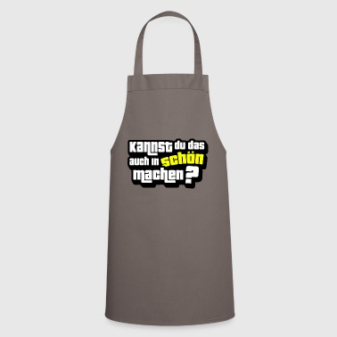 Shade Can you do that too nicely? - Cooking Apron