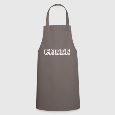 Cheers Cheer cheers cheers applaud cheers cheer - Cooking Apron