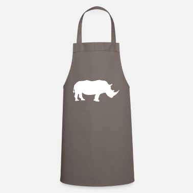 Illustration rhino - Apron