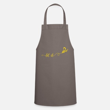 Protection Let it Gift Bee Beekeeper Honey - Apron