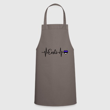 Estonia Pulse Heart Frequency Eesti - Cooking Apron