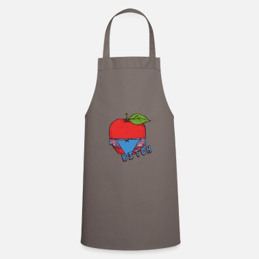 Healthy Underwear Apple Thong Underwear Bitch Funny Sexy - Apron