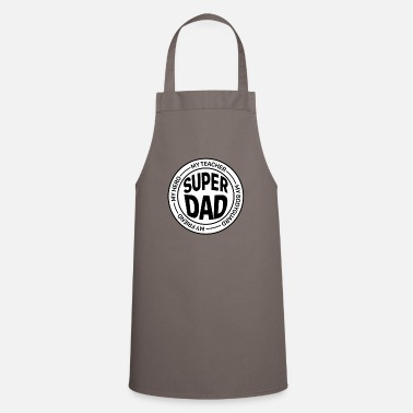 Super Dad is the best super dad - Apron