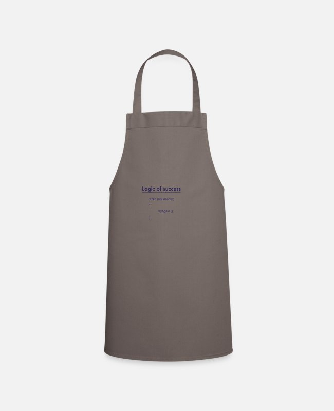 Program (what You Do) Aprons - success - Apron grey