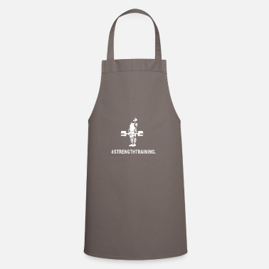 Powerlifting deadlift deadlift strength training gym - Apron