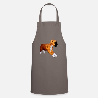 Boxer Dog boxer puppy - Apron