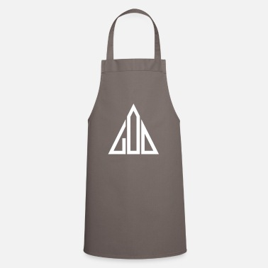 God God God Triangle - Apron