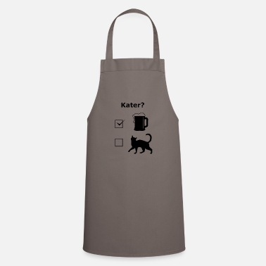Dark Humour Alcohol hangover beer drinking fun funny gift - Cooking Apron