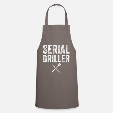 Cooking Apron SERIAL GRILLER Cooking Apron BBQ Grill Gift - Apron