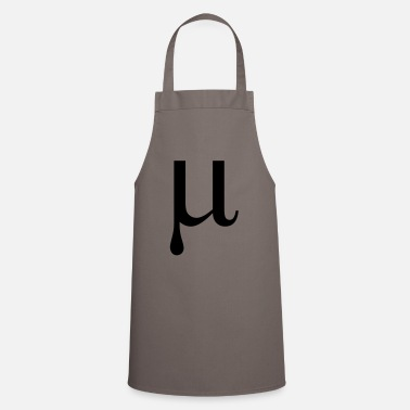 Greek Alphabet Mu Greek alphabet letter - Apron