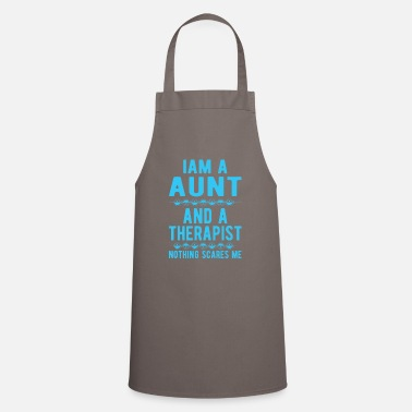 Suicidal Counselor Therapist Aunt Therapist: Iam a Aunt and a Therapist - Apron