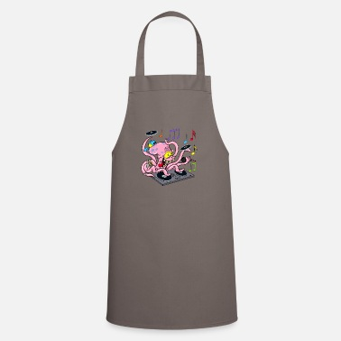 Deejay Octopus deejay - Cooking Apron
