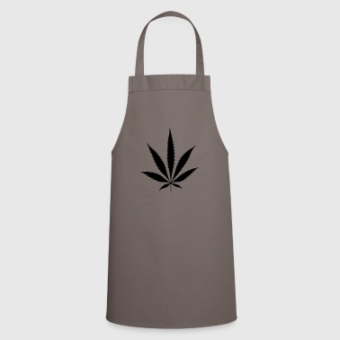 Cannabis bag hemp leaf hemp - Cooking Apron