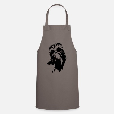 Chewbacca chewbacca monster fur hair star friend beard lase - Cooking Apron
