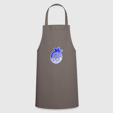 Blue Pineapple Pictogramm Stancel - Cooking Apron