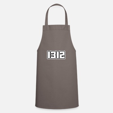 1312 lettering gift - Apron