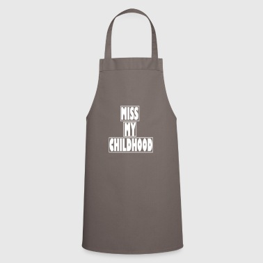 Childhood school kids gift - Cooking Apron
