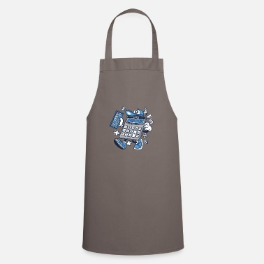 Calculator Funny Calculator Calculator Nerd Geek Gift - Cooking Apron