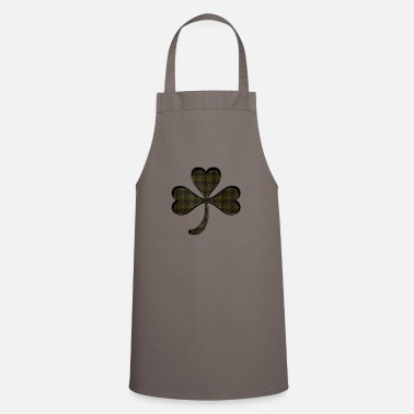 Circular Shamrock gold - Cooking Apron