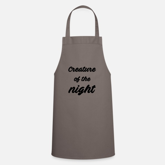 Horror Aprons - Creature of the night - Apron grey