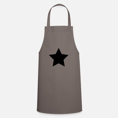 Black black star - Apron