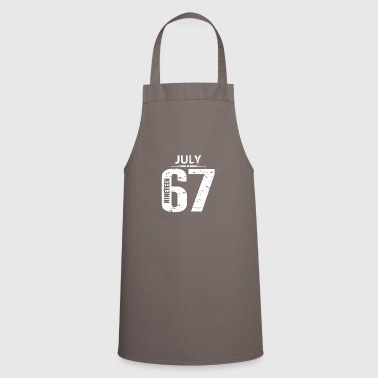July 1967 Jersey Number - Cooking Apron