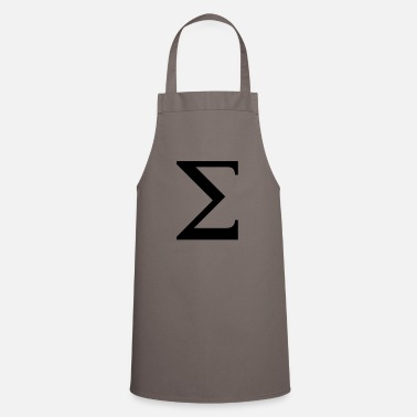 Greek Alphabet Sigma greek alphabet - Apron