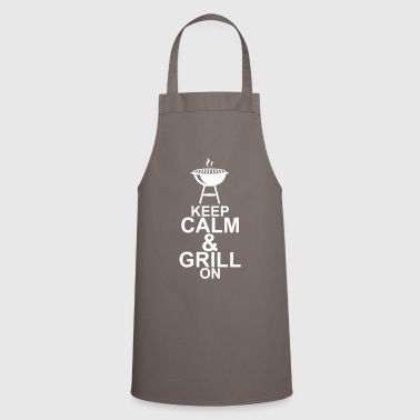 KEEP CALM & GRILL ON - Kochschürze