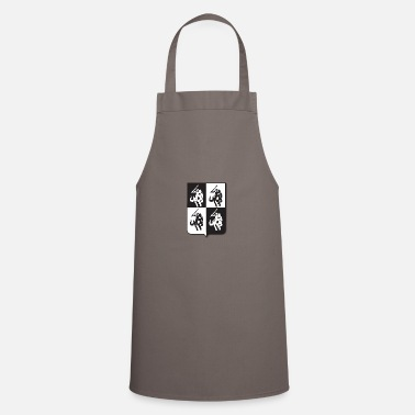 Crest Coat of arms heraldic shadow soldier - Cooking Apron