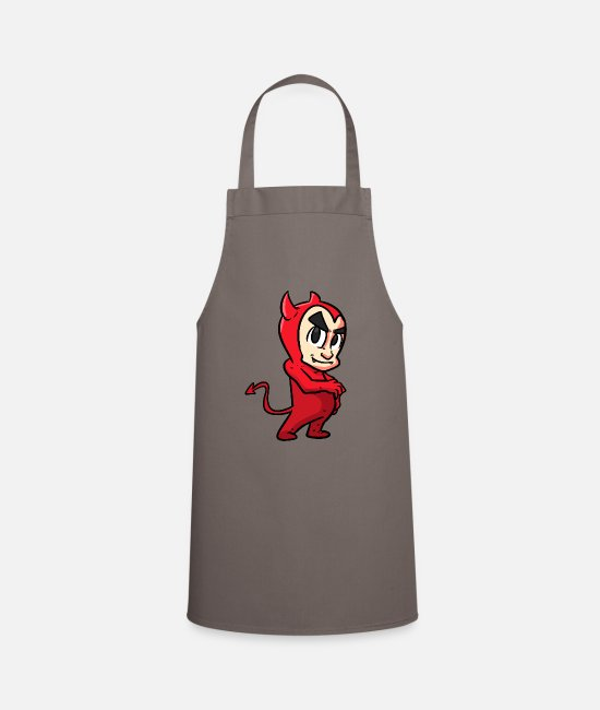 Devil Aprons - Devil Kid - Apron grey