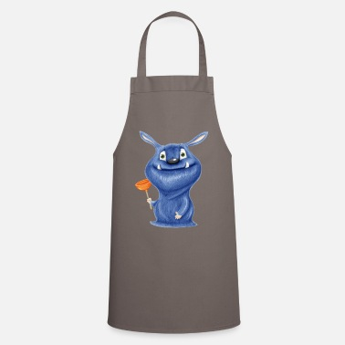 Pumpkin monster - Apron