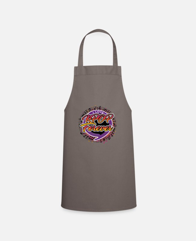 Army Aprons - K-Pop Forever - Apron grey