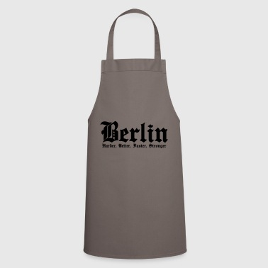 Berlín Harder, Better, Faster, Stronger - Delantal de cocina