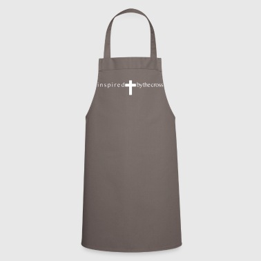 Inspired by the cross - Cooking Apron