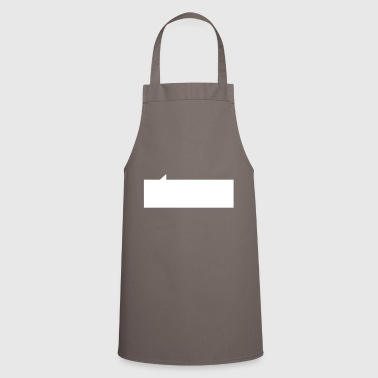 Speech bubble rectangle - Cooking Apron