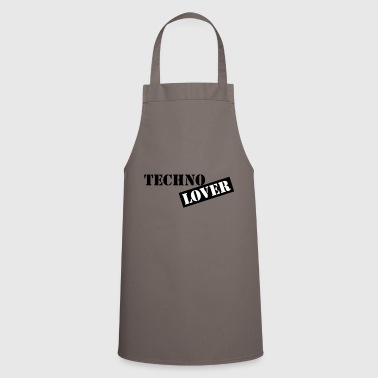 techno lover - Cooking Apron