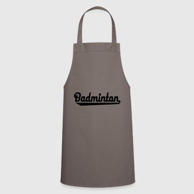 2541614 15784566 badminton - Cooking Apron
