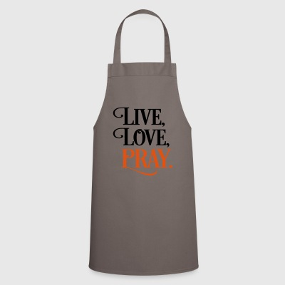 2541614 15903118 pray - Cooking Apron