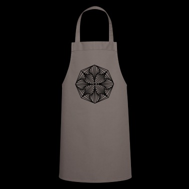 Geometric Art: Octagon (Plain) - Cooking Apron