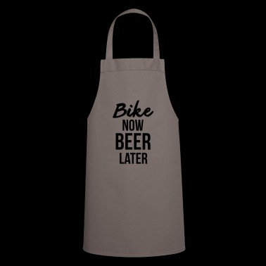 Bike now Beer Later - Biking - Ciclismo - Grembiule da cucina