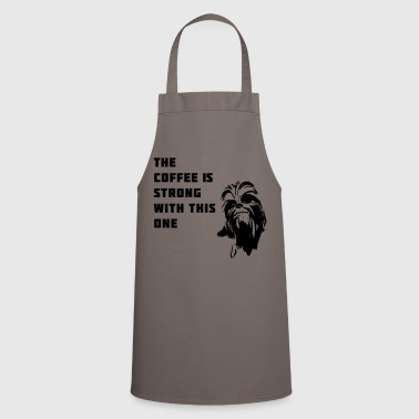 coffee chewbacca strong dark dark side - Cooking Apron