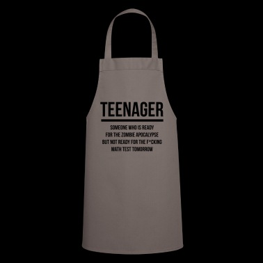 Teenager joke 2 - Cooking Apron
