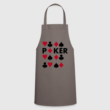 poker - Cooking Apron