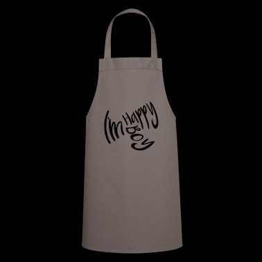 Boy. Happy. Young. Teenager - Cooking Apron