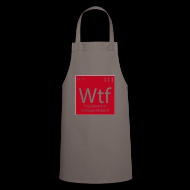 Wtf student gift chemistry student - Cooking Apron