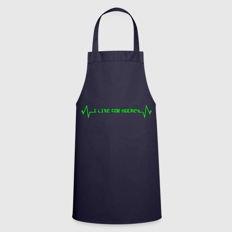 I Live For Hockey - Cooking Apron
