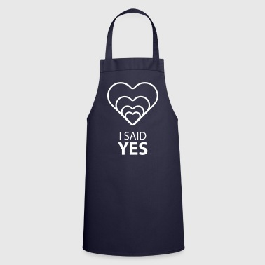 I SAID YES :) - Delantal de cocina