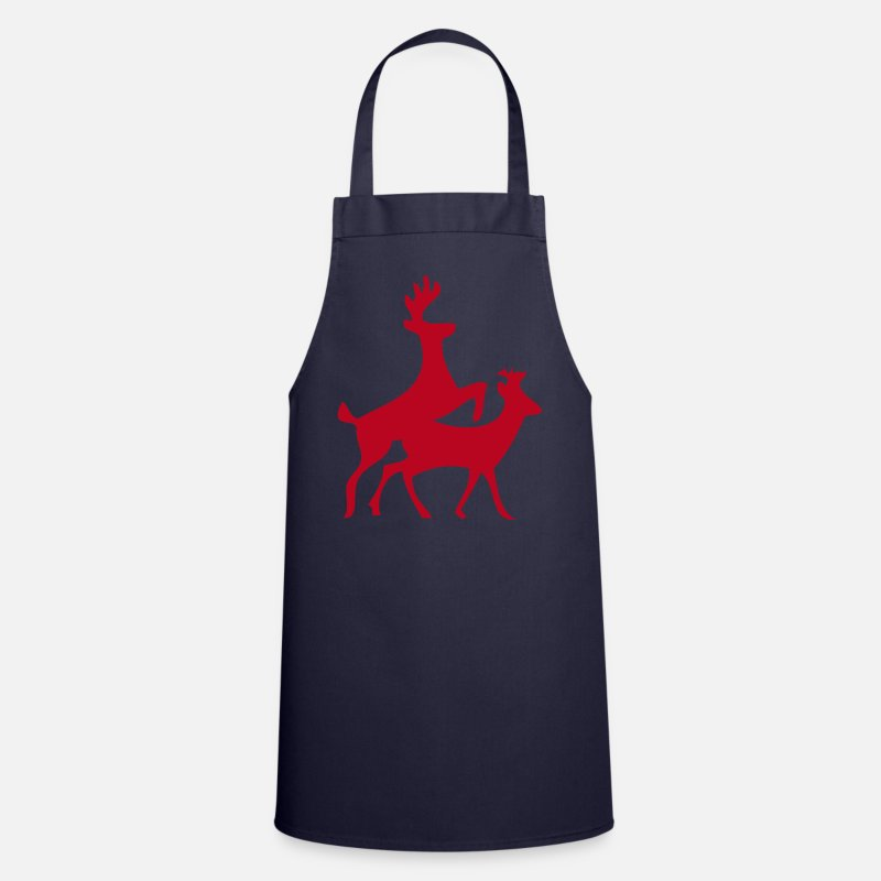 Sex Aprons - geil, deer, antlers, sex, annuitant, Ren, Elen, moose, sexual intercourse, koitus, ficken anal, Bumsen, animals, animal, birds, Sexy, porno, sex, friend, friend, dirtily, Po, back, breasts, sado, maso, Domina  - Apron navy