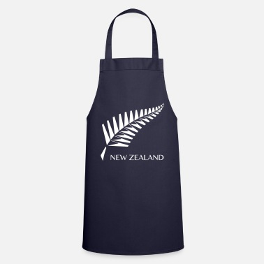 Maori New Zealand fern - Cooking Apron