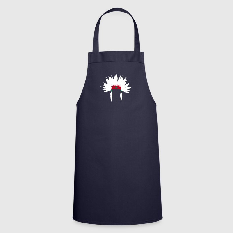 Indians headdress - Cooking Apron
